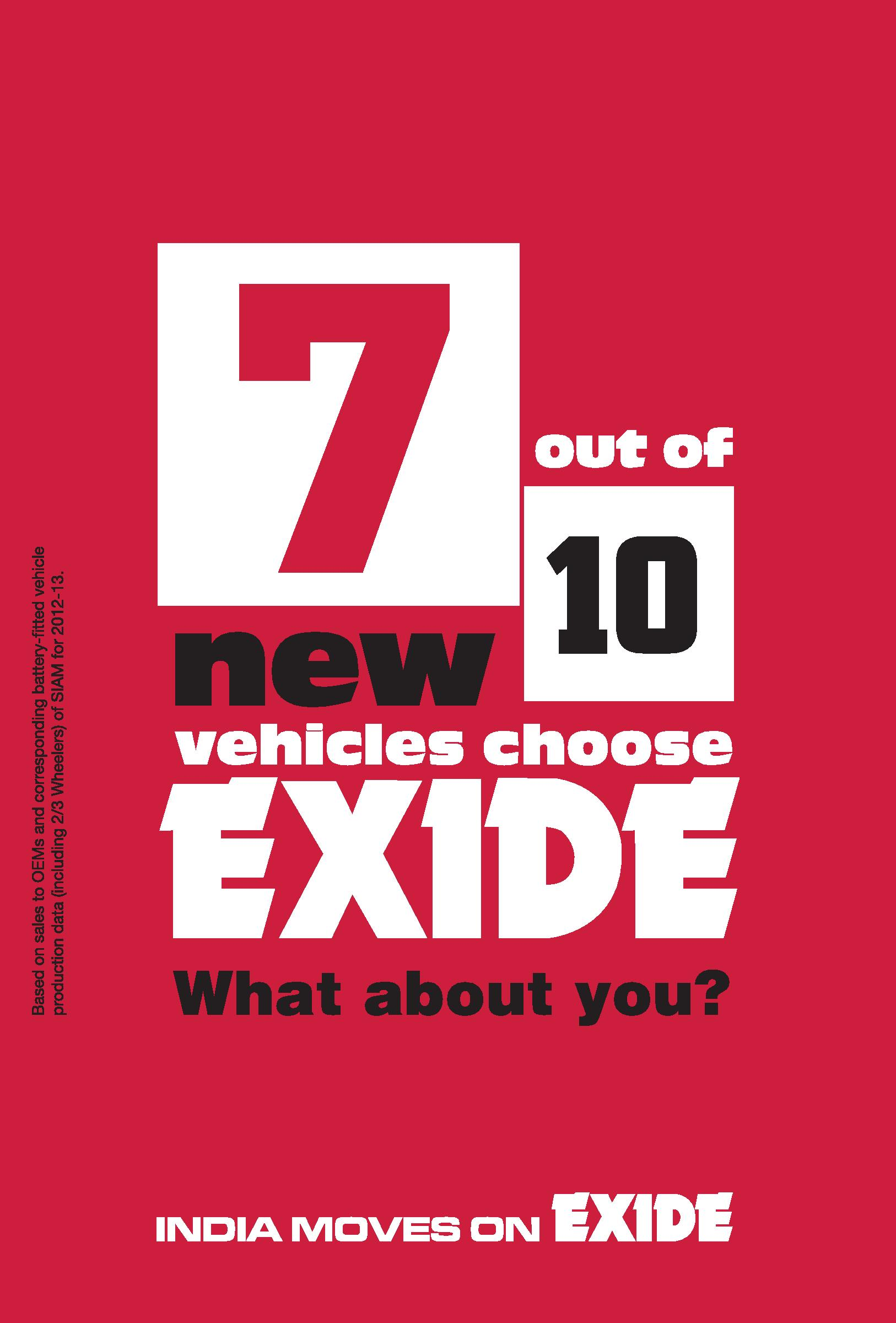 buy Exide Mileage Car Battery online