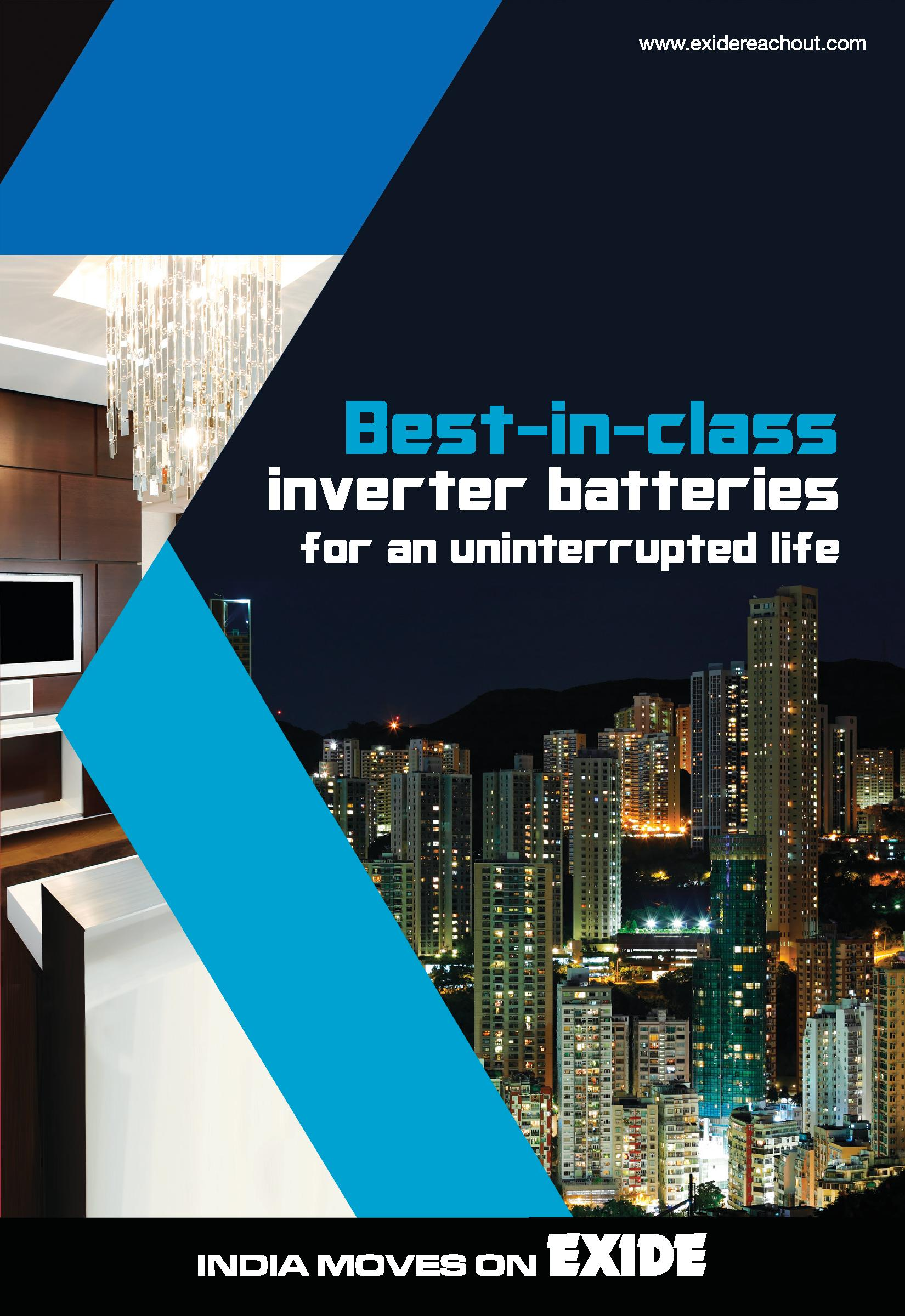Exide InvaSmart inverter Battery