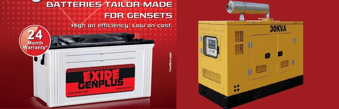 Exide Generator Battery exide genplus