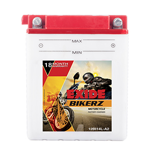 Exide Bikerz Bullet battery 12BI14LA-2