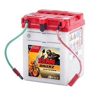 Exide Bikerz without self  battery BI2.5LC