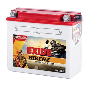 Exide Bikerz Discover 150cc battery BI7B-B