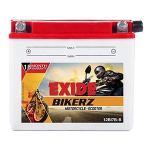 Exide Bikerz Mahindra Rodeo battery 12BI7B-B