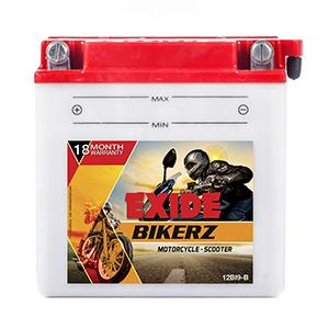 Exide Bikerz TVS APACHE 160R battery 12BI9B