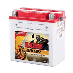 Exide Bikerz TVS APACHE 180R battery BI9B