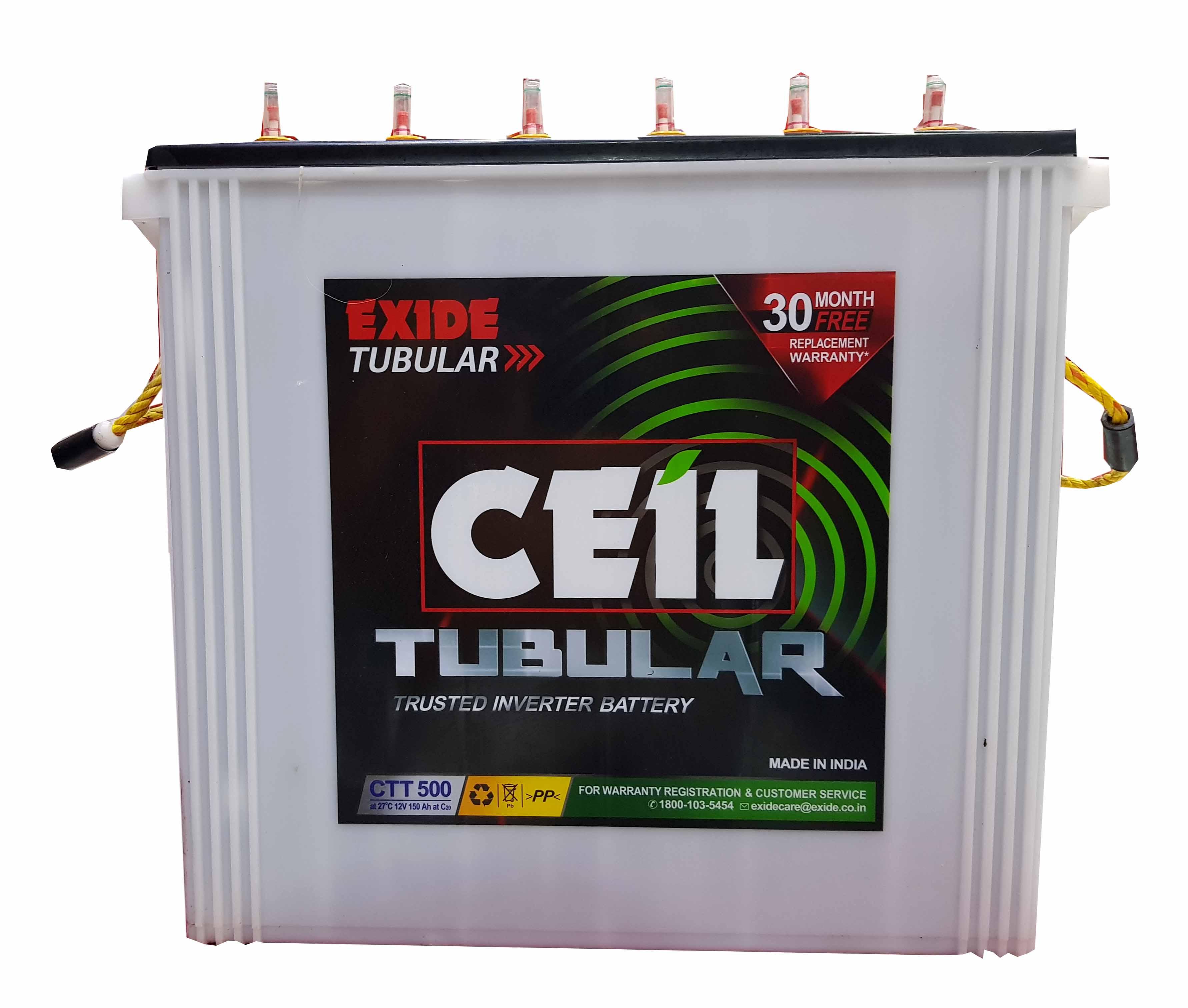 exide ceil tubular ctt500 price