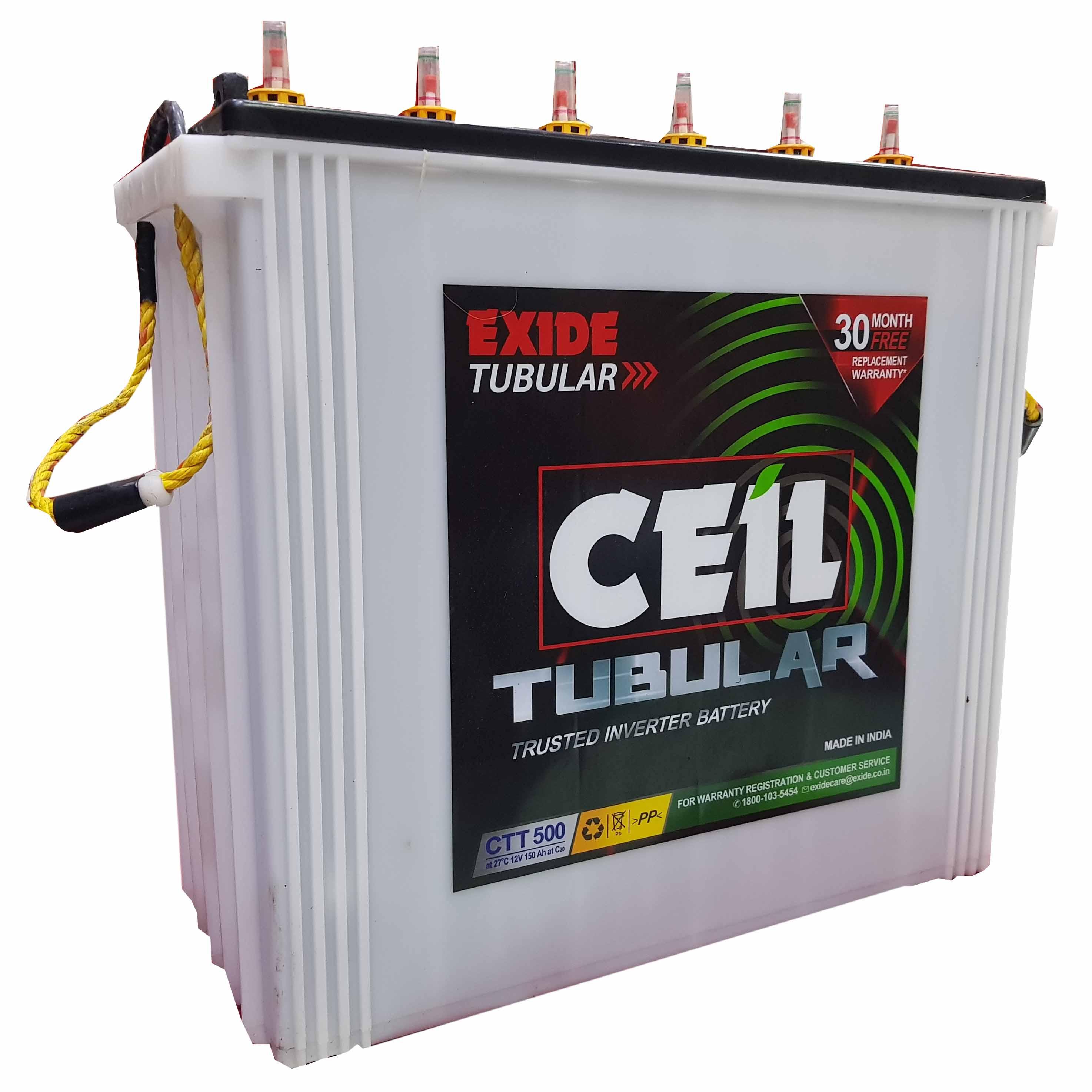 Exide Ceil Tubular inverter Battery
