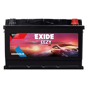 Exide Eezy car battery For swift DIN65LH