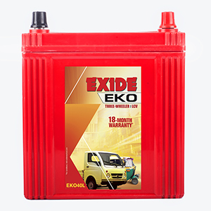 Exide EKO AUTO RICKSHAW BATTERY EKO40L