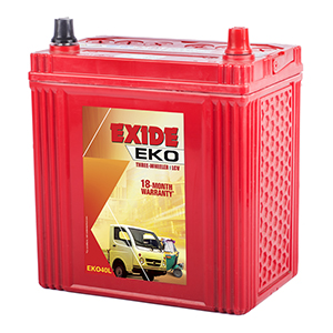 Exide EKO AUTO battery EKO 40L