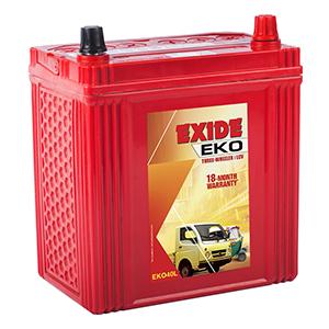 Exide eko three wheeler batterY EKO40L
