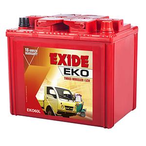 Exide eko maximo battery EKO50L