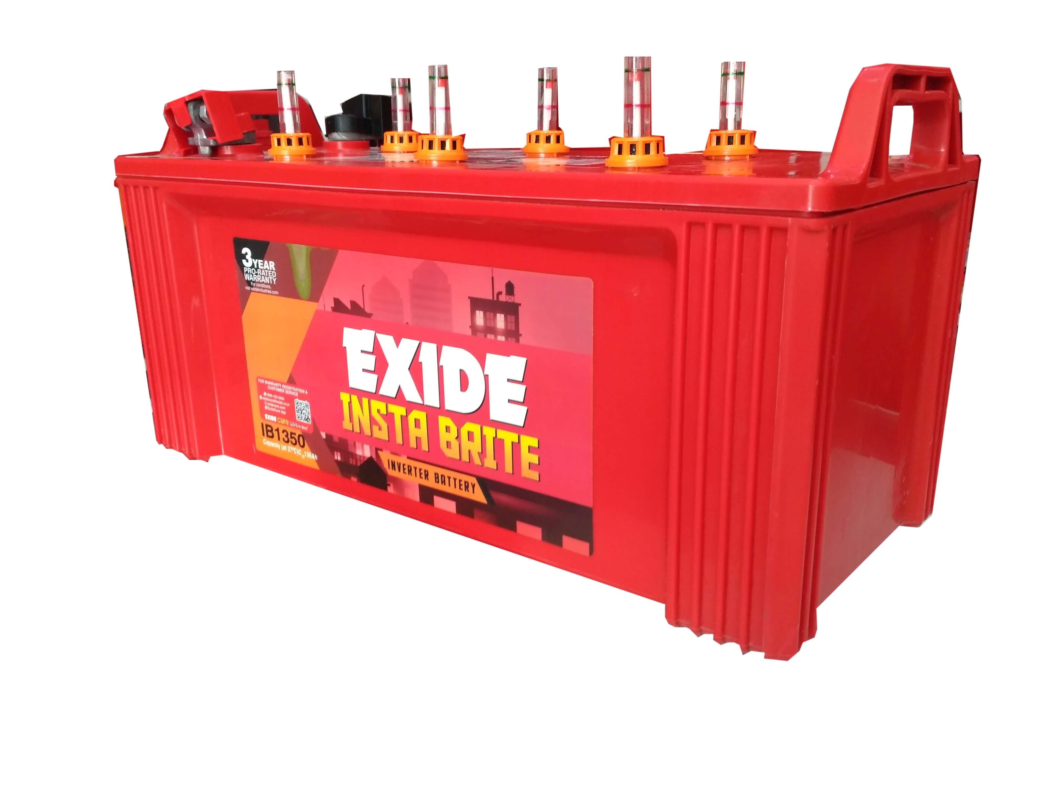 Exide Instabrite 1350 135 ah home ups battery