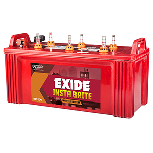Exide Instabrite 1500 150 ah home ups battery