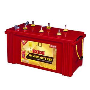 Exide Invamaster 150 ah Tubular battery for inverter