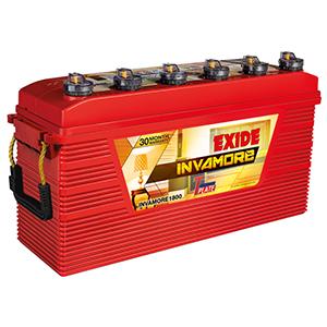 Exide Invamore inverter Battery