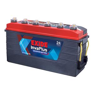 Exide invaplus battery for inverter 130 ah