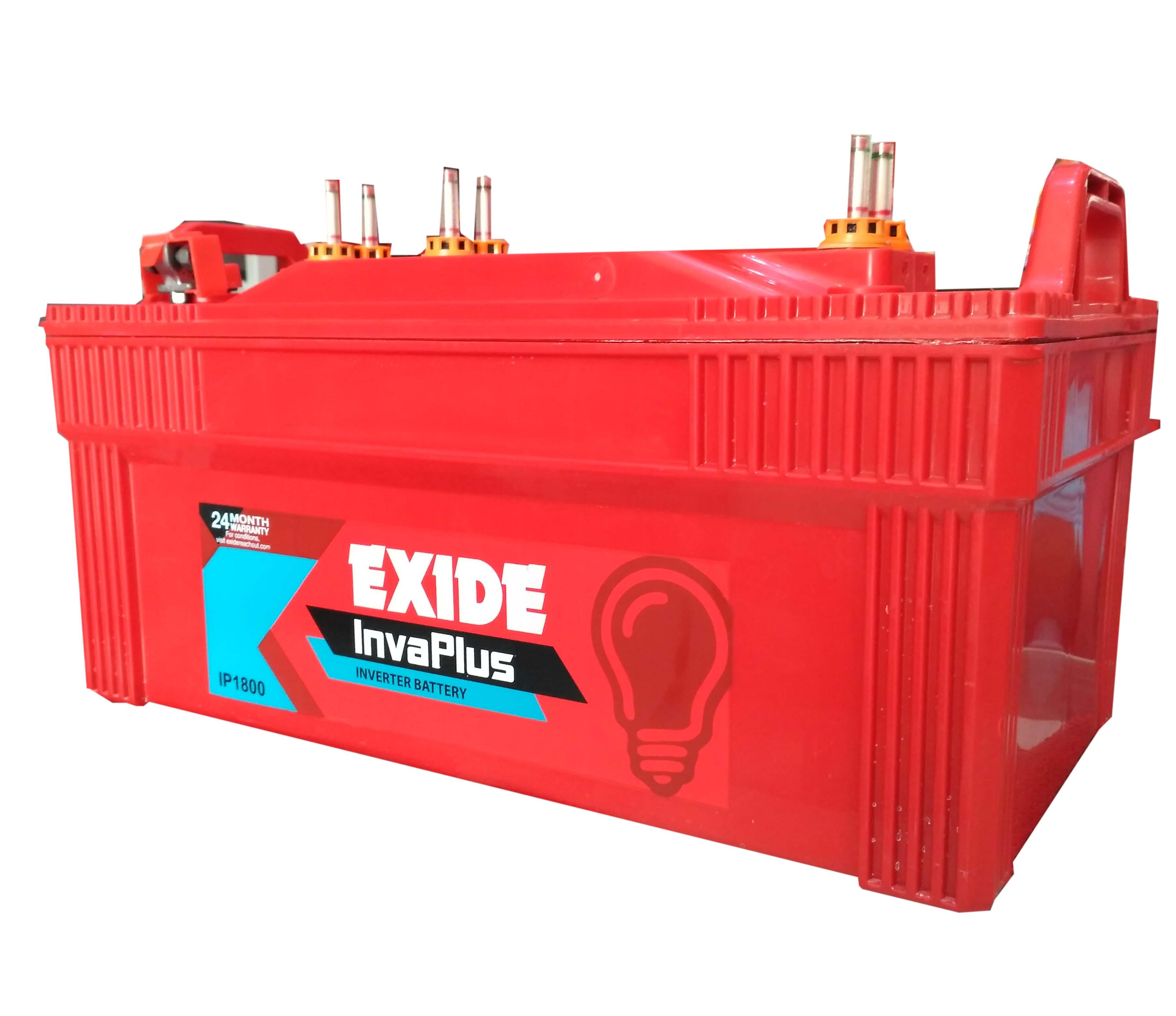 Exide Inverter battery 180 ah