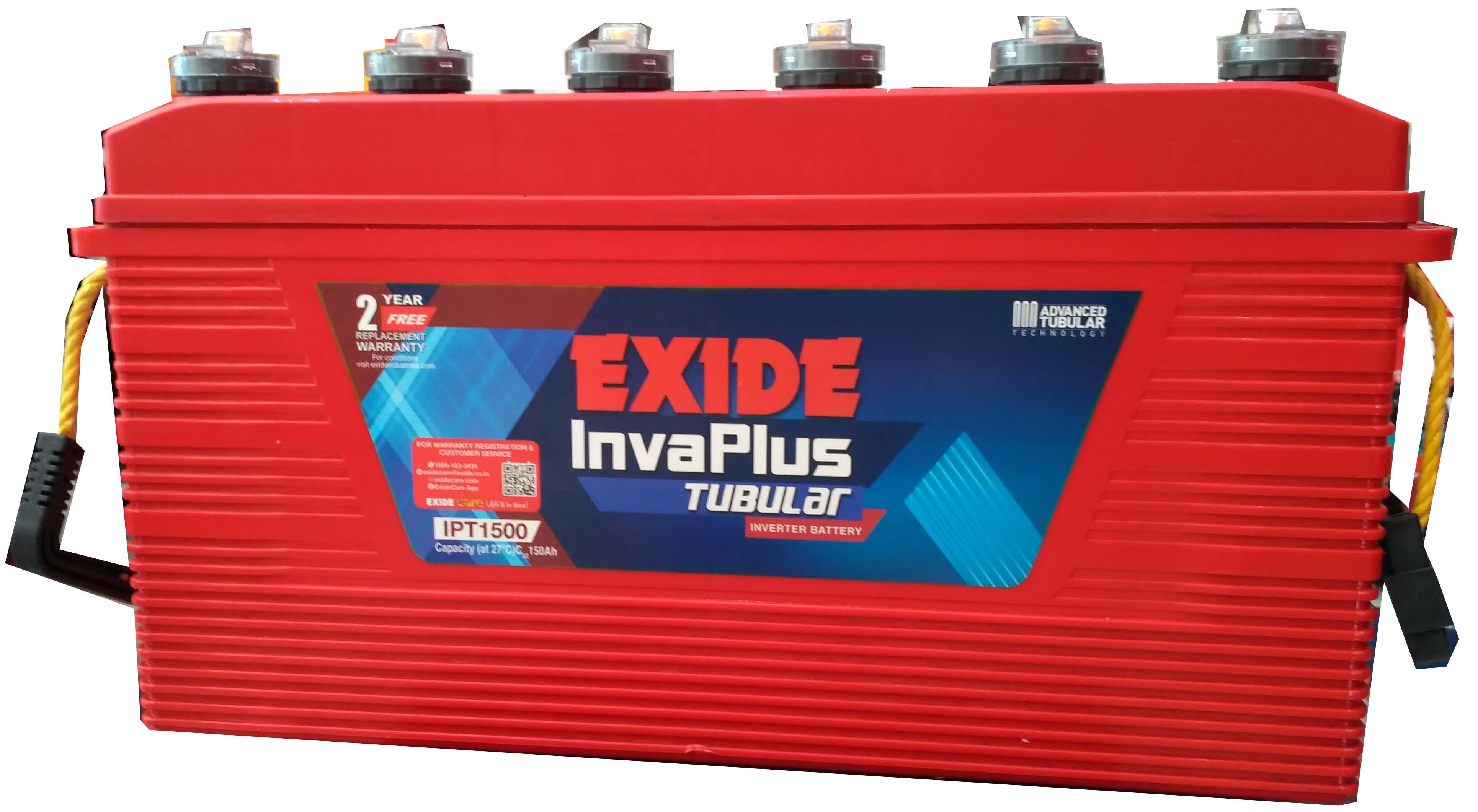 Exide 100 ah Tubular inverter battery