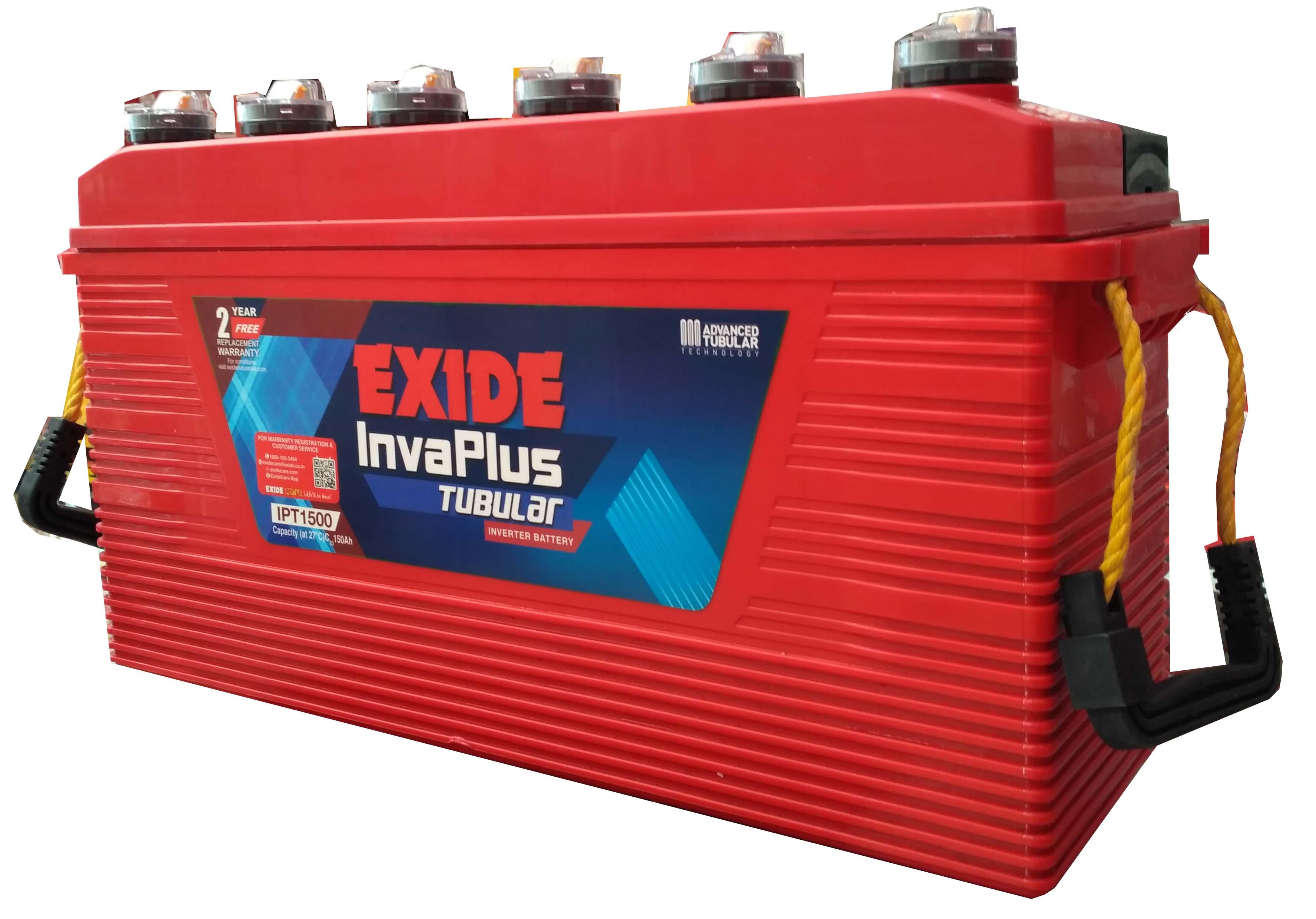 Exide 100 ah Tubular battery for inverter