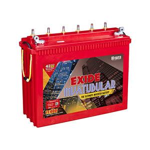 Exide Invatubular it400  115 ah Tubular inverter battery