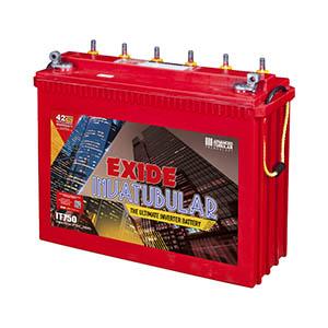 Exide Invatubular IT750 Tall 200 ah Tubular battery for inverter