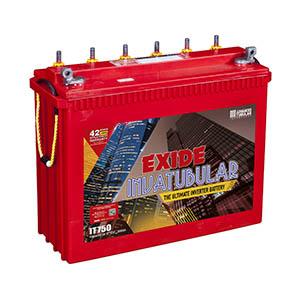 Exide Invatubular it750  115 ah Tubular inverter battery