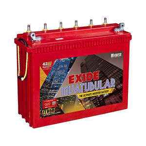 Exide Invatubular it850  230 ah Tubular inverter battery