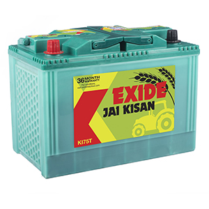 Exide kissan tractor Battery KI75T