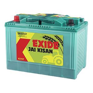 Exide jai kisan ace tractor battery