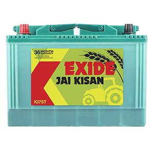 Exide jai kisan 75 ah tractor battery
