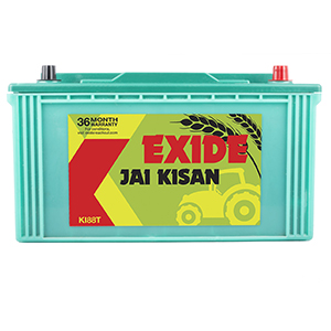 Exide jai kisan tractor battery for 88 ah