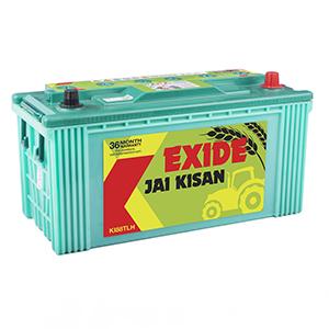 Exide jai kisan trctor battery in 88 ah low height