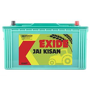 Exide jai kisan tractory battery for john dear top model