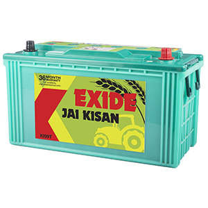 Exide jai kisan tractory battery for 50 hp