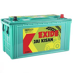 Exide Jai kisan swraj 855 tractor battery