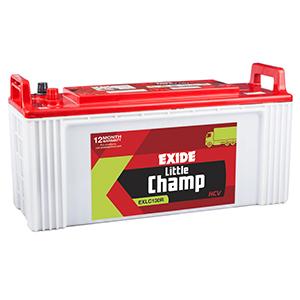 Exide litle champ jcb battery