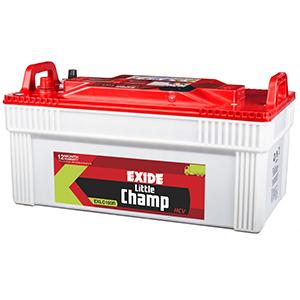 Exide litle champ 180 ah battery for generator