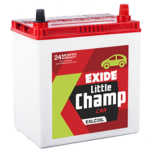 Exide BUY car litle champ Battery EXLC35L