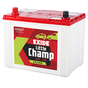 Exide innova battery for 12 month free replacement