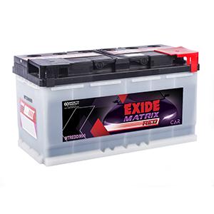 Exide matrix car Battery MTDIN90 MTREDDIN90