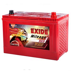 Exide mileage red MHD105D31L