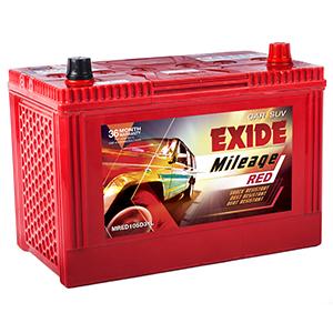 Exide mileage red MR105D31L