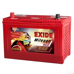 Exide mileage red mhd105d31r