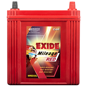 Exide mileag red MARUTI swift petrol battery 35 ah MI35L