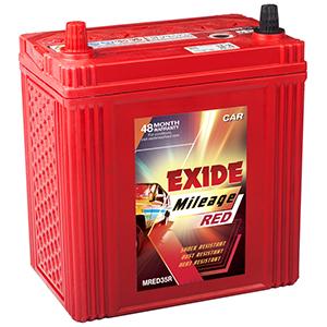 Exide buy automotive mileage Battery mred35r mi35r