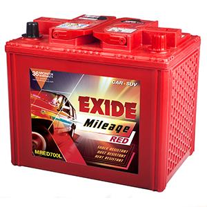 Exide mileage red 700L