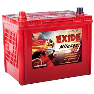 Exide mileage red 80D26R chervolet sail battery MRED80D26R