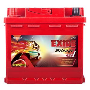 Exide mileage red MREDDIN44R