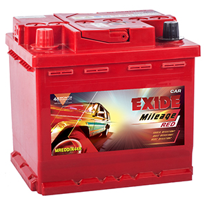 Exide automotive mileage Battery battery for for figo ford fiesta ford eco sport MREDDIN44R MIDIN44R